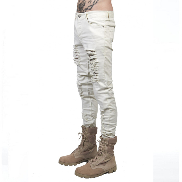 Supper Ripped Jeans For Men  4
