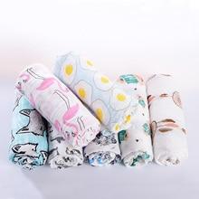 Bomuldsdæpper Til Nyfødt Muslin Swaddle Blød Bambus Bomuld Modtagende Wraps Baby Sleeping Blanket Batch Håndklæde Lignende Adenanai