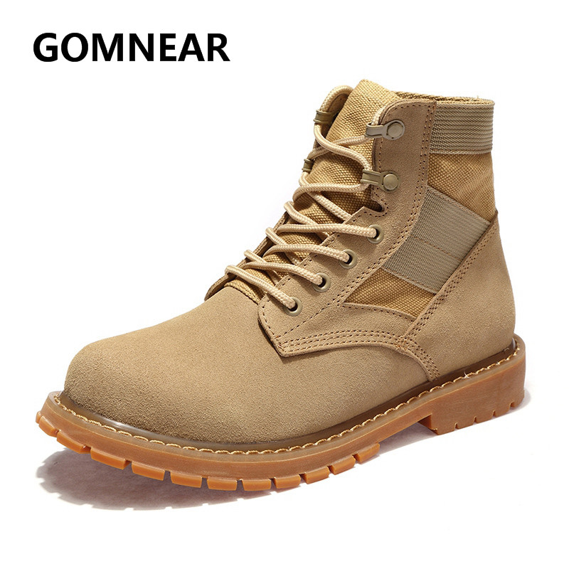 GOMNEAR 2017 Winter Women Hiking Boots Outdoor Trekking Antiskid Wear-resistance Sports Shoes Big Size Women Hiking Sneakers iverson basketball shoes male adolescents spring low help iverson war boots light wear antiskid sports shoes
