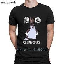 Funny Big Chungus Meme T Shirt Letter Weird Creative Super Mens Streetwear Euro Size Cheap Sale Spring Autumn