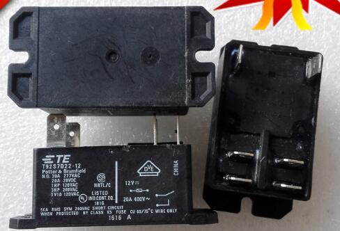 5PCS lot NEW Relay T92S7D22 1230A 250VAC T92S7D22 12 12VDC