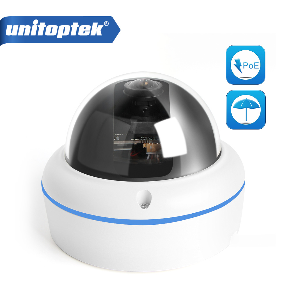 H.265 H.264 HD 1080 P 3MP 4MP caméra IP CCTV POE dôme extérieur 4MP (2592*1520)/3MP (2048*1536)/2MP (1920*1080) objectif Fisheye 1.7 MM