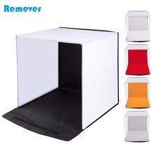 40*40*40cm Mini Portable Tabletop Photo Studio Foldable Photography Softbox with 5 colors Backdrops Shooting for Phones Cameras