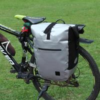 Waterproof Bike Saddle Bag Bicycle Mini Tail Rear Bag Under Seat Storage Portable Outdoor Mountain Bike Cycling Pannier