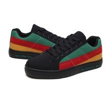Mens sneakers sepatu flat untuk pria desainer kasual Sepatu Fashion kanvas sepatu papan vulkanisir mengemudi Luar Berjalan Joging