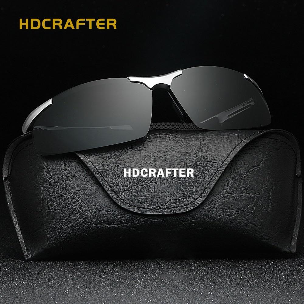 HDCRAFTER Herr Sport Polariserade Solglasögon Män Utomhus - Kläder tillbehör - Foto 3