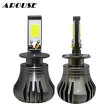 AROUSE 80W 9600LM COB LED H11 880 H8 H3 Car Universal Fog Light Daytime Running Lights 12V Styling Headlights DC12v 24v