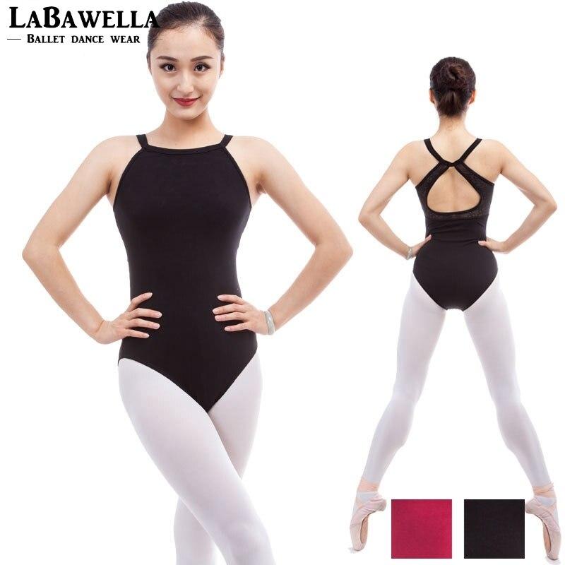 4f7099dc5b Adult White Ballet Leotards For Women Gymnastics Leotards Girls Sexy Dance  Leotard Ballet Bodysuit Dance Clothes CS0198