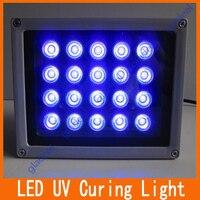 1 pcs 20 Lâmpadas LED UV LOCA Shadowless Glue Fotopolimerizador/Lamp/Secador para Renovação Celular Toque Montagem Digitador Da tela