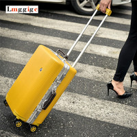 NIEUWE Vintage Aluminium frame Bagage, Universele wielen Handbagage, Rolling Trolley, PC shell Koffer, Sterke Hardshell Reizen Doos