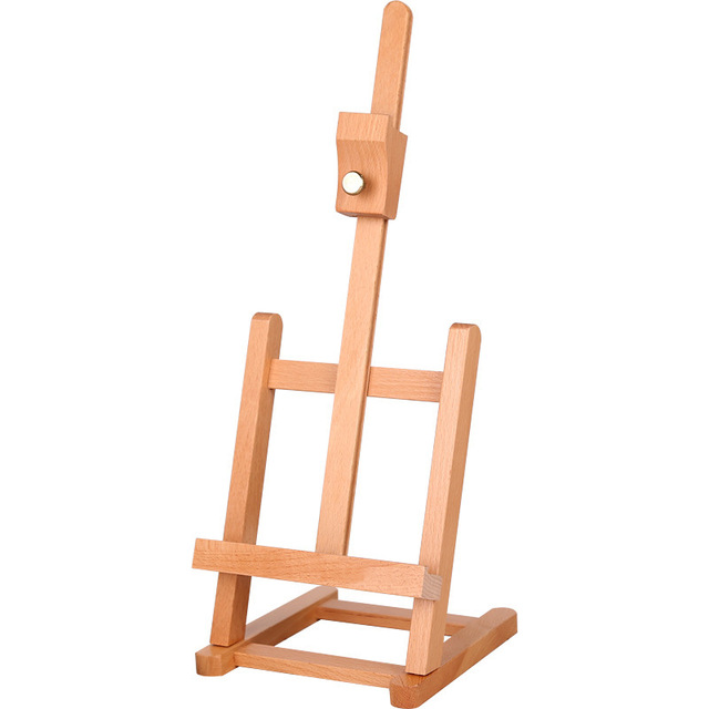 adjustable small h frame wooden artist tabletop easel advertisement