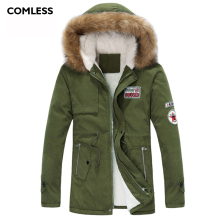 COMLESS Plus Size 3XL 4XL Unisex Winter Lovers Casual Jacket Hooded High Quality Women Long Coat Zipper Up Women Warm Parka
