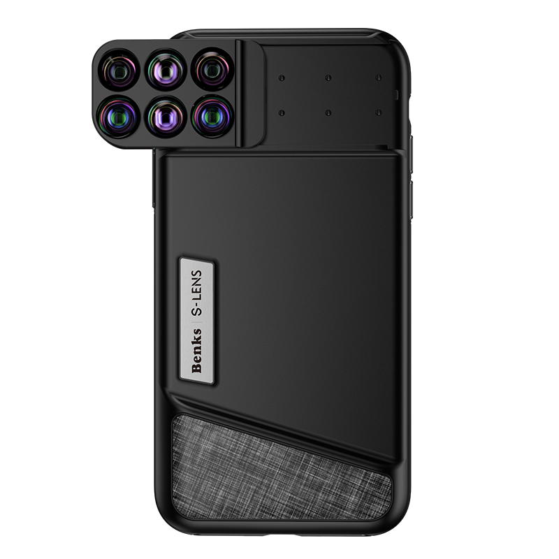sports shoes cbdf5 5b7cb US $42.16 |Benks 6 in 1 Telephoto Camera Lens Case for iPhone X Wide Angle/  Macro/ Fisheye Lens for iPhone 10 Phone Lens Case Cover-in Fitted Cases ...