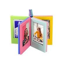 10 piezas marcos de fotos magnético Mini de 3 pulgadas combinación Asamblea estilo foto refrigerador pegatinas decoración de la Mesa de bloques
