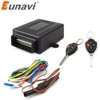 Eunavi 402/309 12 v carro auto remoto central kit fechadura da porta bloqueio do veículo keyless sistema de entrada
