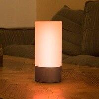 مصباح السرير الذكي الأصلي من شاومي Mijia مصباح داخلي 16 مليون RGB مصباح خافت يعمل باللمس يعمل بالبلوتوث تطبيق Mijia