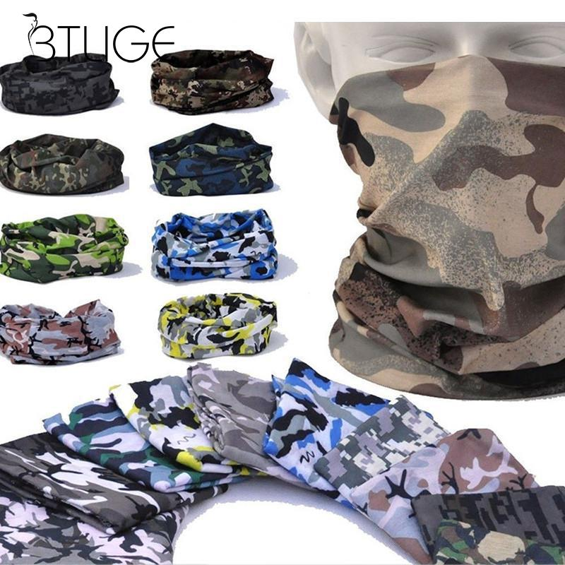 Unisex Camouflage Scarf Head Bandana Head Face Mask Neck Gaiter Snood   Headwear   Hair Accessories For Women Cool Outdoor Bandana