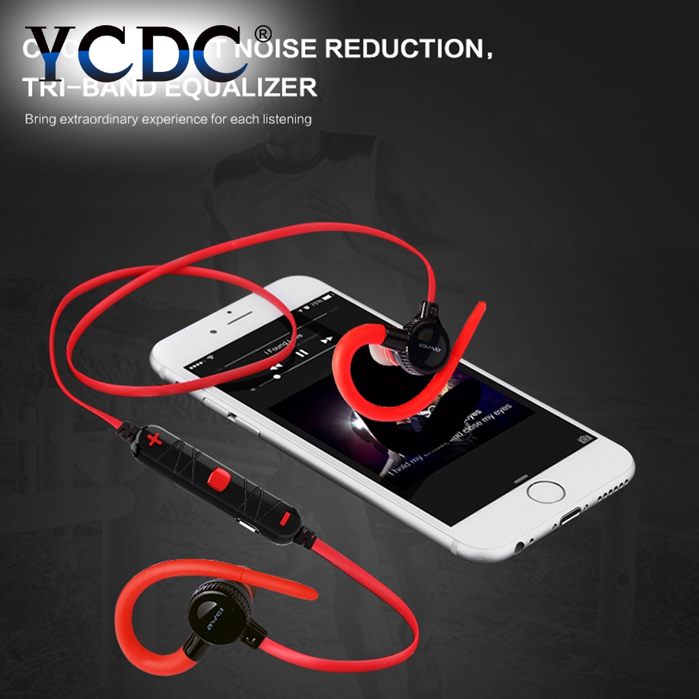 YCDC Cheap Bluetooth Headphones Ear Hook Wireless Earphone Stereo Headset For Phones fone de ouvido Auriculares For iPhone 6 7 remax 2 in1 mini bluetooth 4 0 headphones usb car charger dock wireless car headset bluetooth earphone for iphone 7 6s android