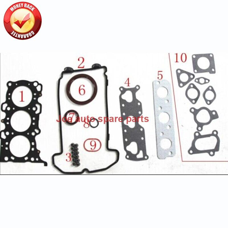 Kit de jeu de joints moteur K6A pour Suzuki Wagon R + KEI 12 V ALTO GF HA25 HA35 0.7L 1998-50272200 11402-78838 1140278838Kit de jeu de joints moteur K6A pour Suzuki Wagon R + KEI 12 V ALTO GF HA25 HA35 0.7L 1998-50272200 11402-78838 1140278838
