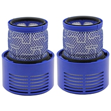 2-Pack Replacement Filter For Dyson V10, Sv12 Cyclone Animal Absolutely Clean Vacuum Cleaner, Part No. 969082-01