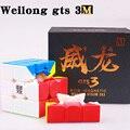 MOYU Weilong GTS 2 M 3x3 Cubo de velocidad magnético GTS 3 M rompecabezas profesional sin adhesivo Moyu cubo GTS2M imanes GTS3 Neo Cubo mágico