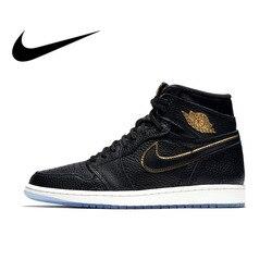 9b84dff1d31e0 Original Official Authentic NIKE AIR JORDAN 1 RETRO HIGH OG Men Basketball  Shoes Sneakers Sport Outdoor
