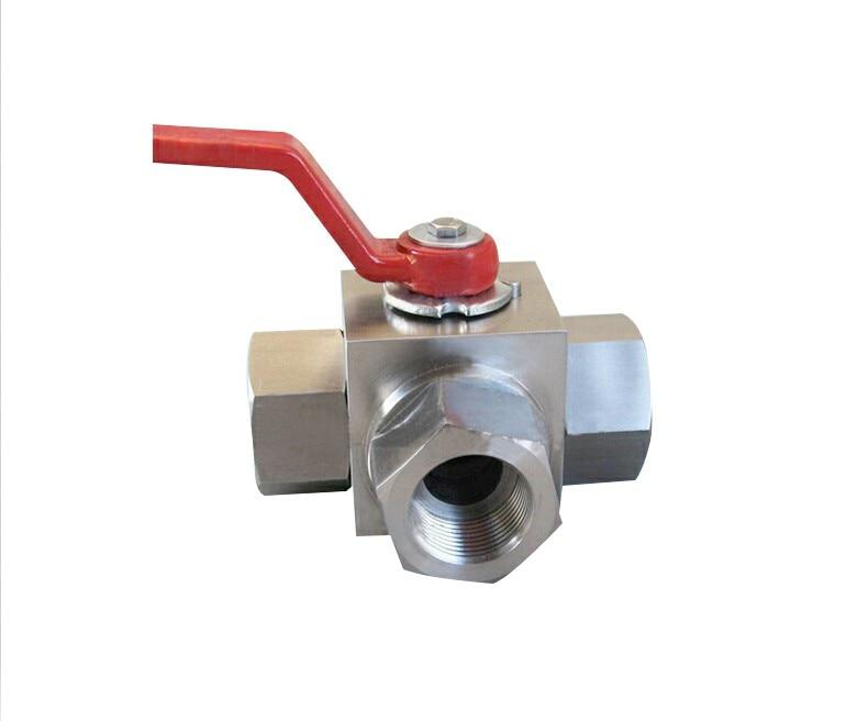Hydraulic ball valve KHB3K-NPT3/4 high pressure valve цены