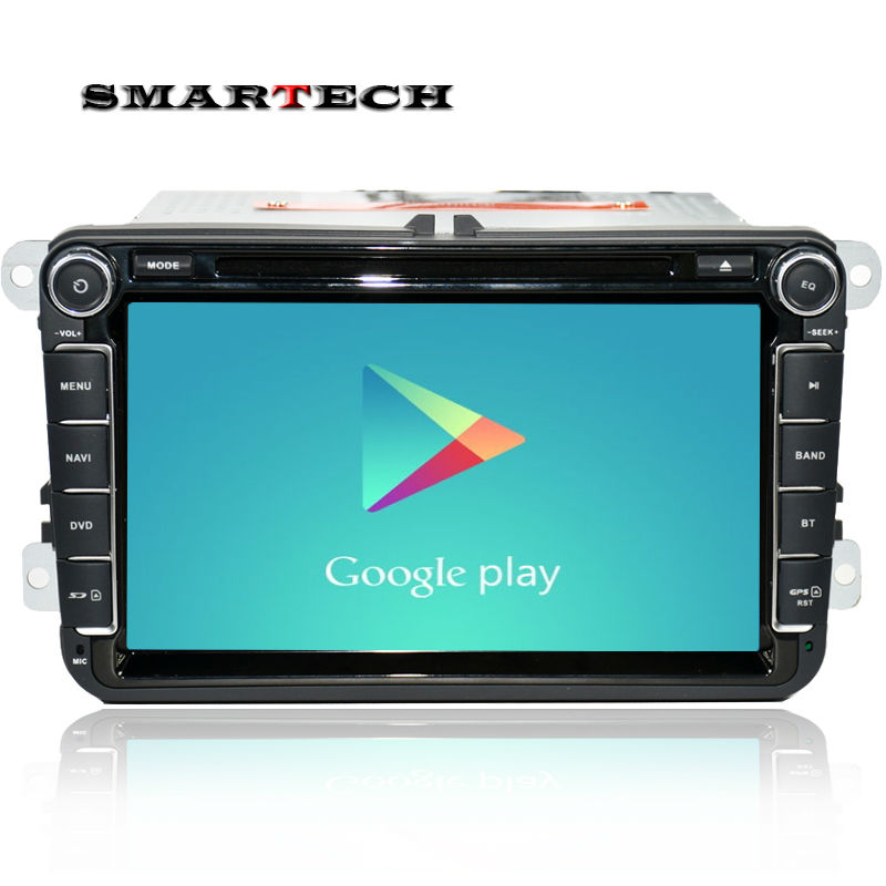 font b Android b font 4 4 car stereo radio for vw passat b6 golf