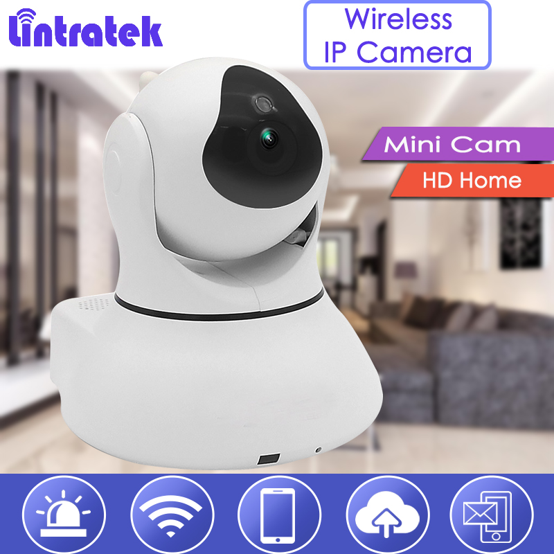 lintratek hd Camera with Antenna Wirelss Security Cam Mini IP Camera Baby Monitor Two way Audio Wi-Fi 720P Nanny Surveillance 20 mini dog wireless hd 720p ip camera nanny two way audio security camera indoor baby monitor cam