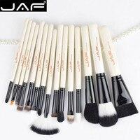 JAF 15 Pcs Brush Unicorn Makeup Brushes Set Kit Super Soft Hair Face Cosmetics Blending Brush