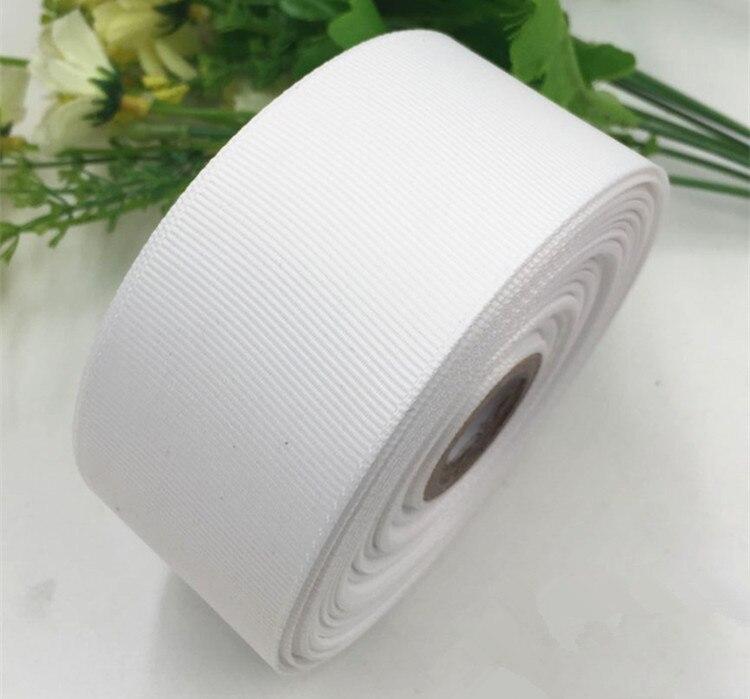 (5yard/lot) 40 мм 4 см белая корсажная лента подарочная упаковка оптом Новогоднее украшение ленты