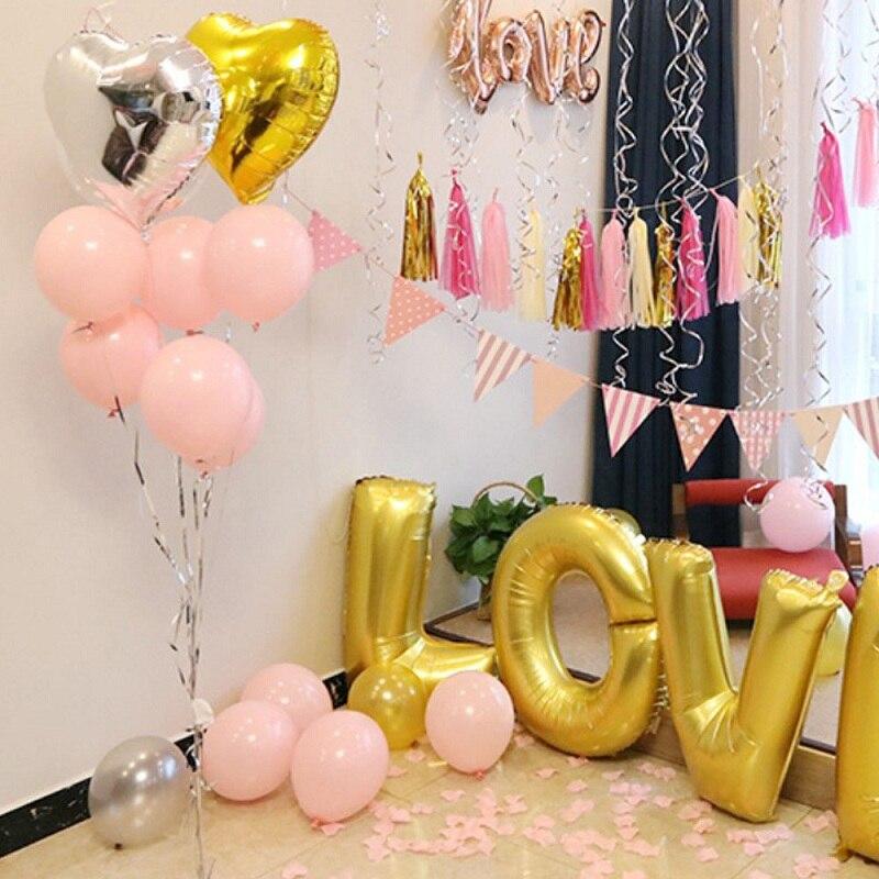 Drone Bags Oudirose 100pcs 10inch Latex Balloon Birthday Party Children Balloon Baby Shower Wedding Decoration Party Balloon Supplies Toys