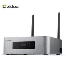 ZIDOO X10 Smart TV Box Quad Core Android 6.0 4 K TV Box 2G/16G Dual Band WIFI Media Player HDMI 2.0 HDR 1000 M LAN Set top Box