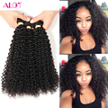 Mongolian Kinky Curly Hair 3/4 Bundles Lot 8a Grade Unprocessed Human Hair Weaves Annabelle Hair Company Afro Kinky Curly Hair