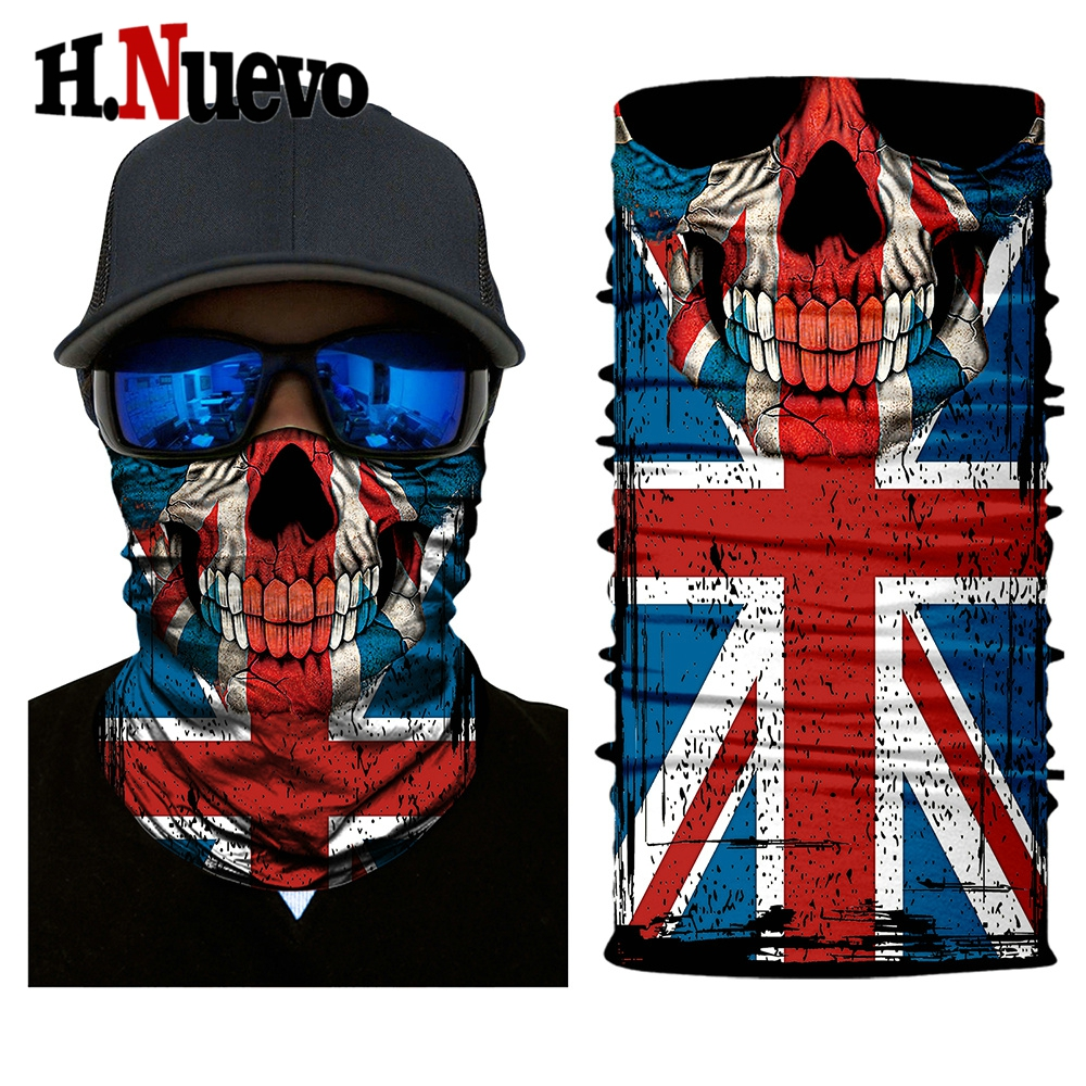 HR040317 for motorcycle skull face mask balaclava winter biker masque bandana