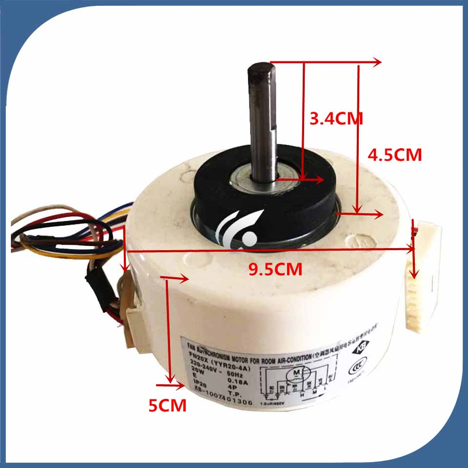 95% new good working for Air conditioner inner machine motor FN20Z FN20R FN20X (YYR20-4a) fan95% new good working for Air conditioner inner machine motor FN20Z FN20R FN20X (YYR20-4a) fan
