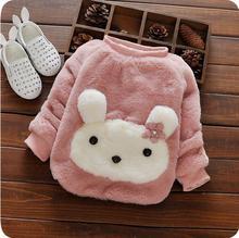 Brand New Kids Fashion Sweater Girls Cute Rabbit Style Warm Sweater Children Winter Autumn Outerwear Girls Clothes