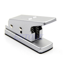 B39 Silver Professional Guitar Plectrum Punch Picks Maker Card Cutter DIY Own Pick S