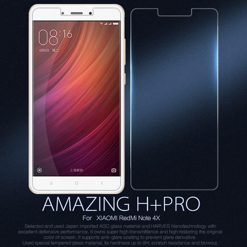 Pour XiaoMi RedMi Note 4X Nillkin Incroyable H + Pro Anti-Explosion En Verre Trempé Protecteur D'écran Pour XiaoMi RedMi Note 4X