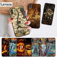 Lavaza The Lord of Rings the one ring Silicone Case for iPhone 5 5S 6 6S Plus 7 8 11 Pro X XS Max XR