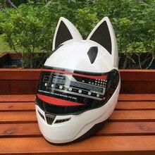 Мотоциклетный шлем NITRINOS cat ear-это четырехсезонный анти-туман шлем