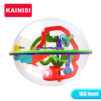 22CM 168 Steps 3D Puzzle Ball Magic Intellect Ball Educational Toys Puzzle Balance IQ Logic Ability