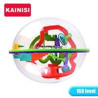 22CM 168 Steps 3D Puzzle Ball Magic Intellect Ball Educational Toys Puzzle Balance IQ Logic Ability