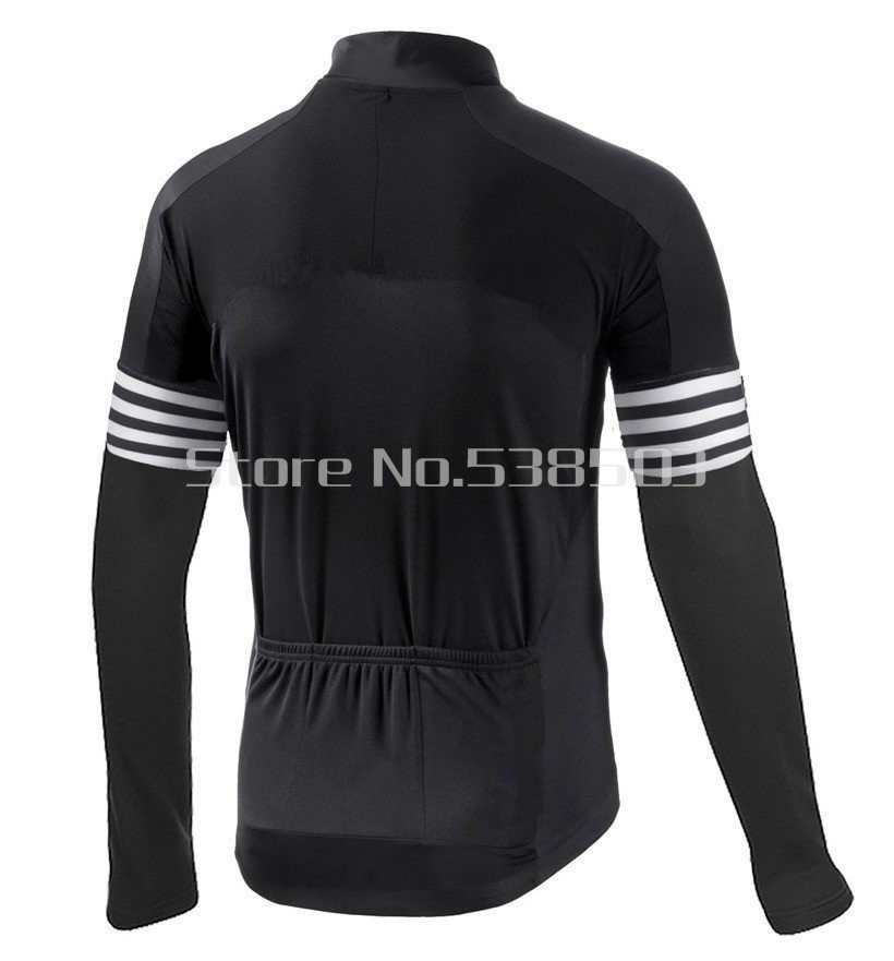 Black Thermal Fleece Cycling Winter Jersey Outdoor Road Bike Wear Jacket  Ropa Bicycle Maillot Ciclismo invierno  DT 017-in Cycling Jerseys from  Sports ... 1444f65c7