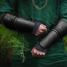 Новые панковские коллекционные игрушки уличная рука Защитная повязка на руку COS имитация кожи Ретро запястье Косплей средневековый рыцарь Броня