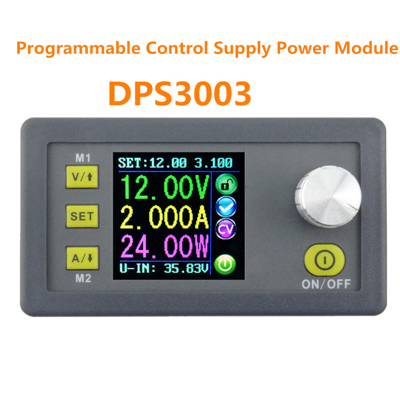 DPS3003 Constant Voltage volt current Step down Programmable DC supply power modele converter voltmeter 6%OFF