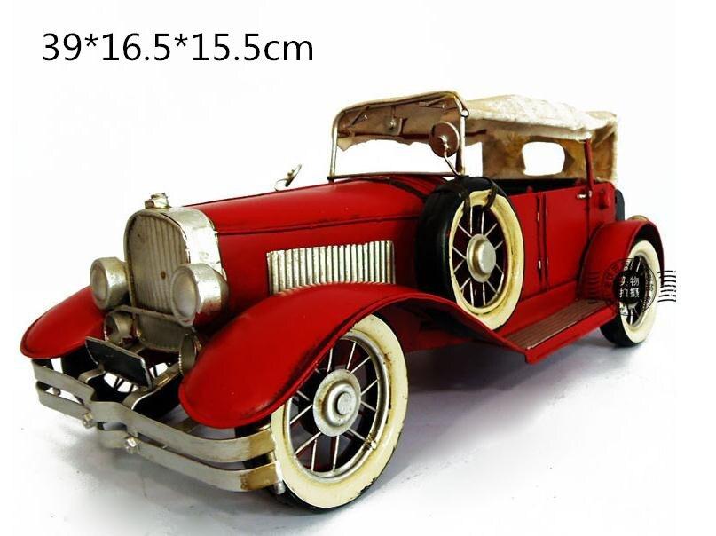 1 Piece Classic Antique Miniature Model Cars Handmade Toy