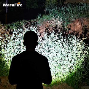 Image 5 - Wasafire 10000 Lumens Diving Torch Professional Powerful led Waterproof Scuba Dive Flashlight Diver Light LED Underwater Lantern