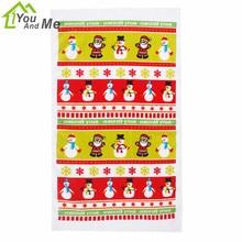 Christmas Style Microfibre Towel Santa Claus Tea Water Absorption Table Cloth Soft Hand