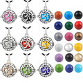 H121 2016 Blackened Silver Peace Locket Pendant For Pregnant Women Harmony Bola Angel Caller Chime Ball Necklace Charms